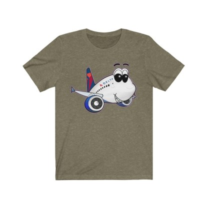 airplaneTees Delta Smiles Airbus Tee – Unisex Jersey Short Sleeve 4