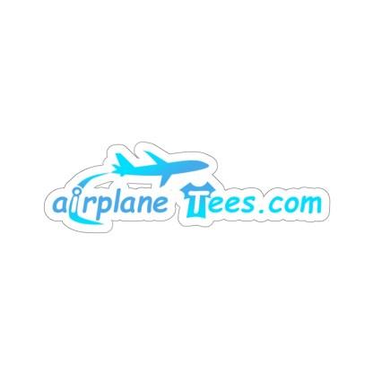 airplaneTees airplaneTees.com logo sticker 1