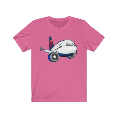 airplaneTees Delta Airbus Tee – Unisex Jersey Short Sleeve 12