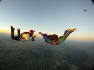 Saut en Parachute AFF