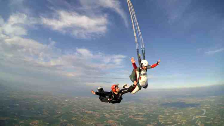 Saut d'initiation Parachutisme