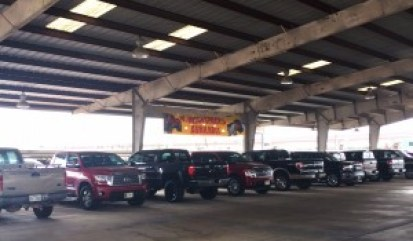 Covered Large Truck Parking - $11 Per Day