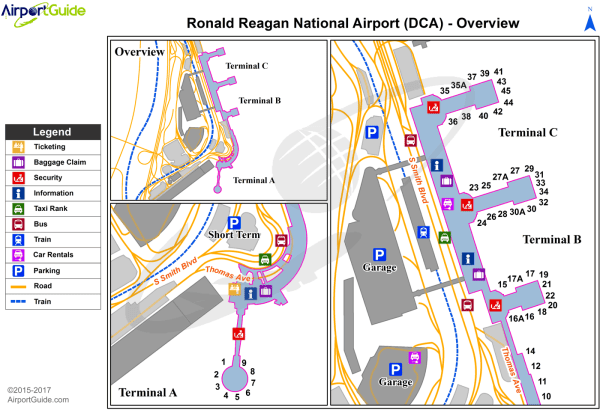 Ronald Reagan Washington National Airport KDCA DCA