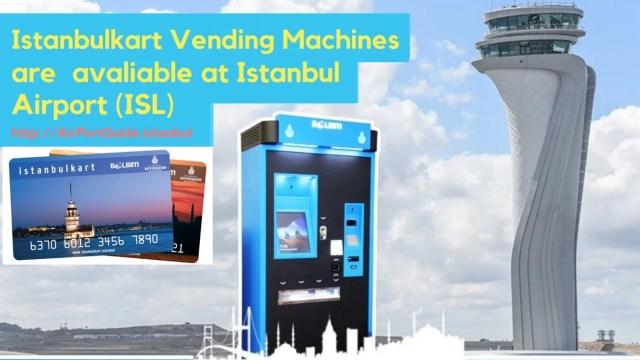 istanbulkart vending machines