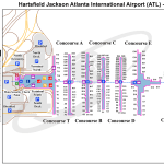 Atlanta Hartsfield Jackson International Airport Atl Georgia