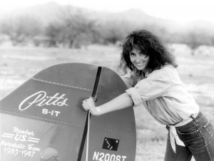 Patty Wagstaff has flown several aerobatic planes over the years, including a Pitts S-1S biplane she owned half-interest in during the mid-eighties.