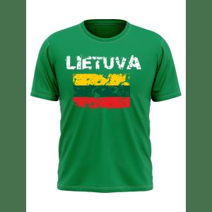 Vyriški marškinėliai TRISPALVĖ