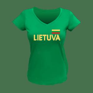 Moteriški marškinėliai LIETUVA