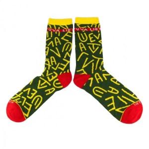 Vyriškos kojinės su raidėmis LIETUVA