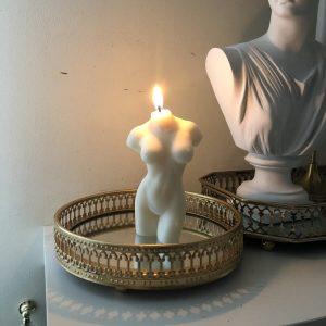 Sojų vaško žvakė ATĖNĖ