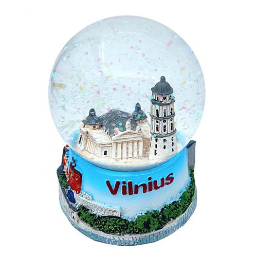 Sniego burbulas VILNIAUS ARKIKATEDRA