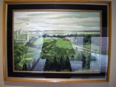 Painting in hotel
