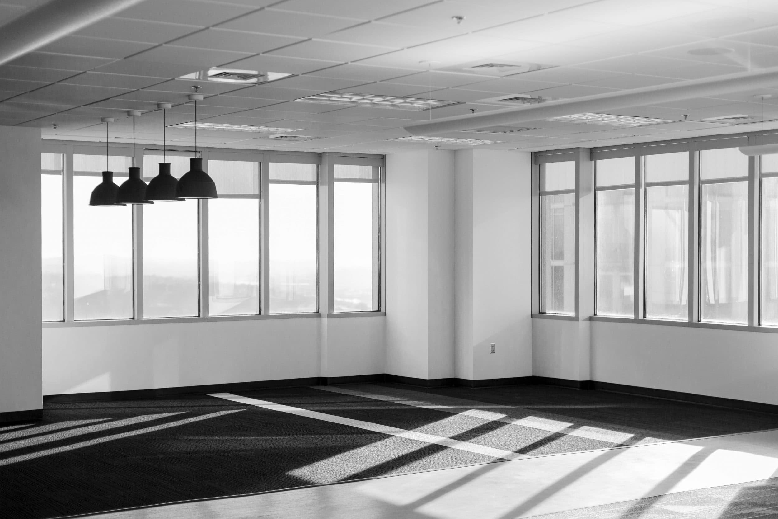 inside office - clean air