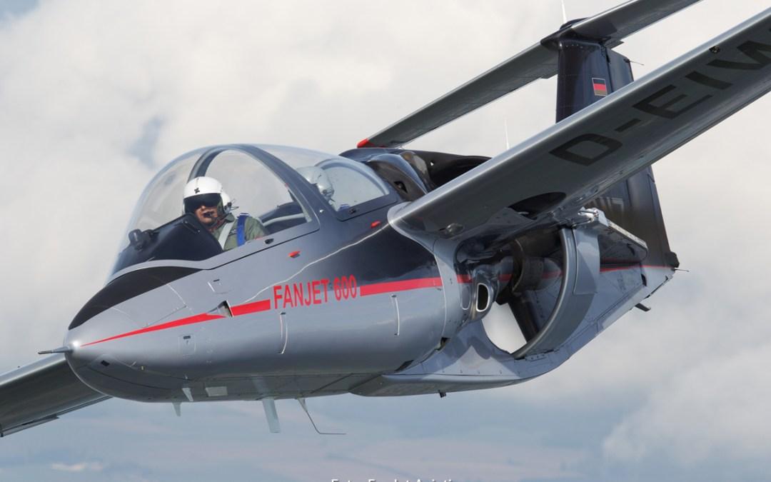 Der FanJet 600 erstmals auf der Airshow Breitscheid