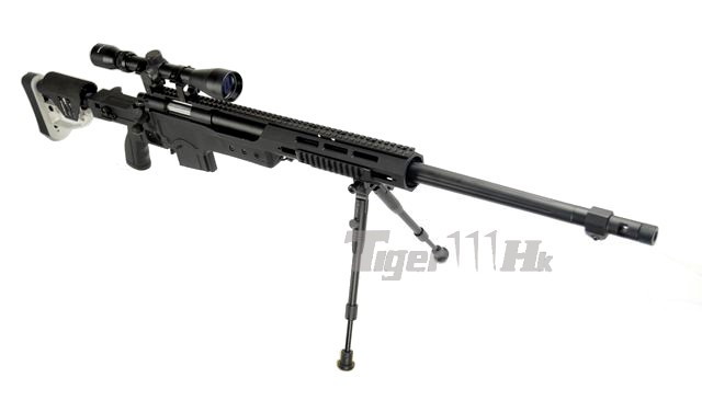 WELL MB4412D Air-cocking Sniper Rifle with Scope & Bipod