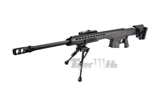 Snow Wolf Metal M98 Sniper Rifle AEG (Black) Airsoft