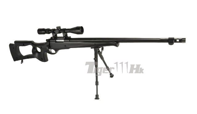 WELL G210D Gas Bolt Action Sniper Rifle with Scope and