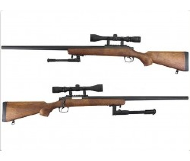 Well Vsr 10 Mb03 Sniper Rifle Wood