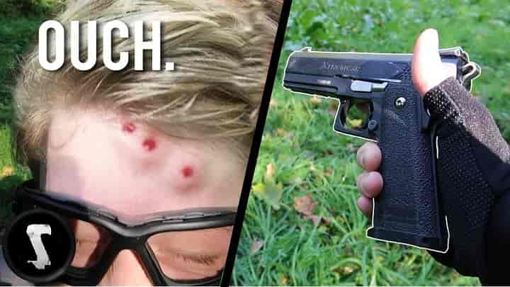 Can you be killed by an Airsoft gun