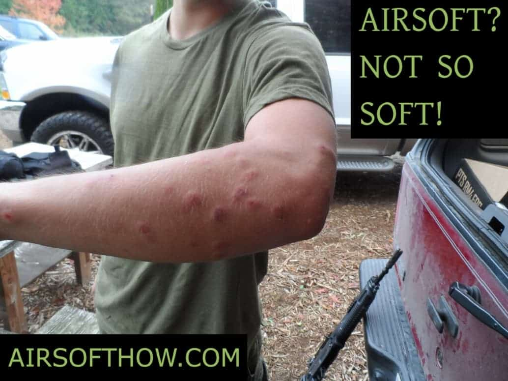 Airsoft is not soft