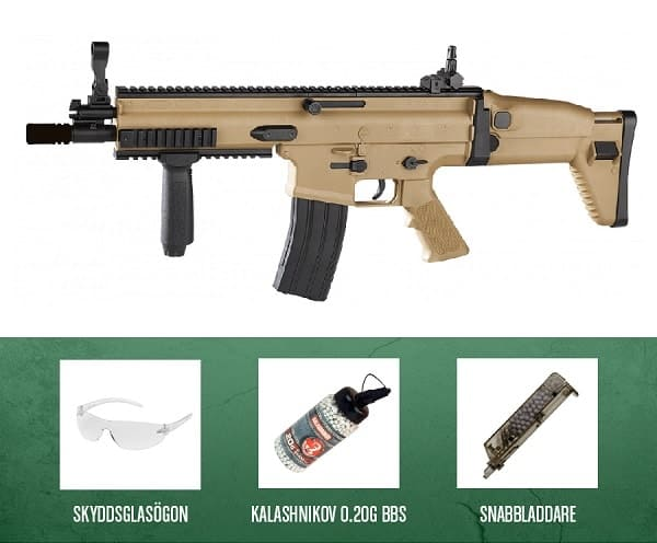 Scar-L Spring Powered Airsoft Rifle