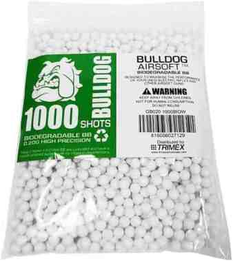 Biodegradable Triple Polished Airsoft BB