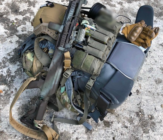 AIRSOFT – MilSim kit for a 30hr game