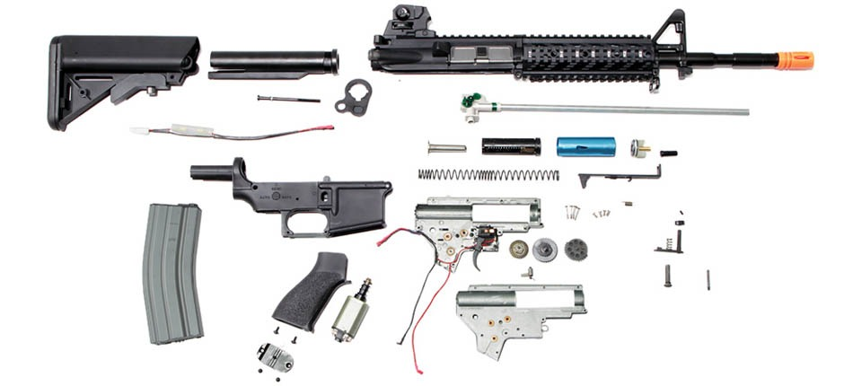Everything you need to know about Airsoft AEGs [Master Article] - Airsoft  RanchAirsoft Ranch