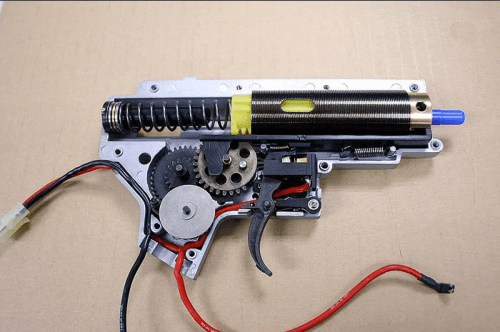 small resolution of airsoft guns aeg rifle gearbox