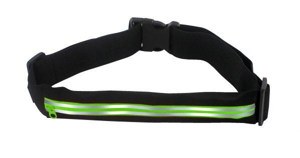 ceinture running 1 poche vert
