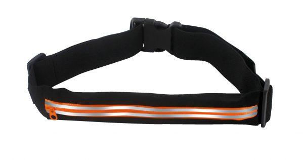 ceinture running 1 poche orange