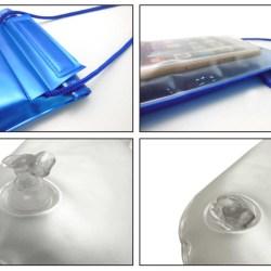 Etui étanche gonflable / Waterproof Inflatable case – Wavecase