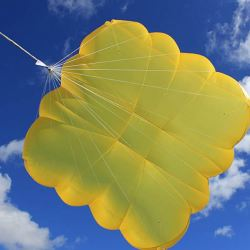Voile de secours / Cruciform rescue parachute – Ultra Cross by Independence