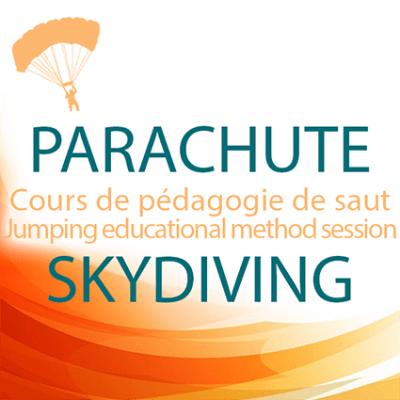 cours de pédagogie de saut parachute