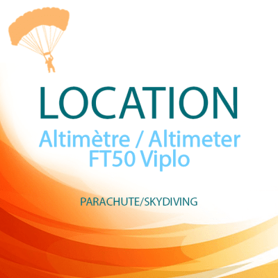 location altimetre FT50 Viplo