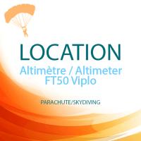 Location d'altimètre FT50 Viplo / Altimeter FT50 Viplo rental