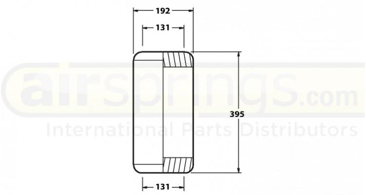 Airspring Diaphragm Volvo 20535875