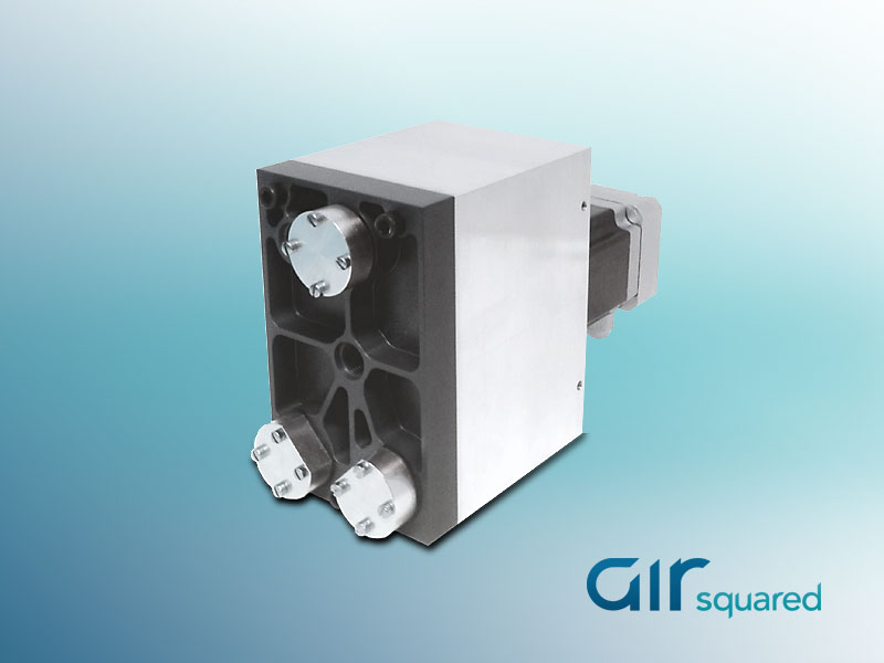 Fuel Cell Hydrogen Recirculation Pump  Air Squared Scroll Technology