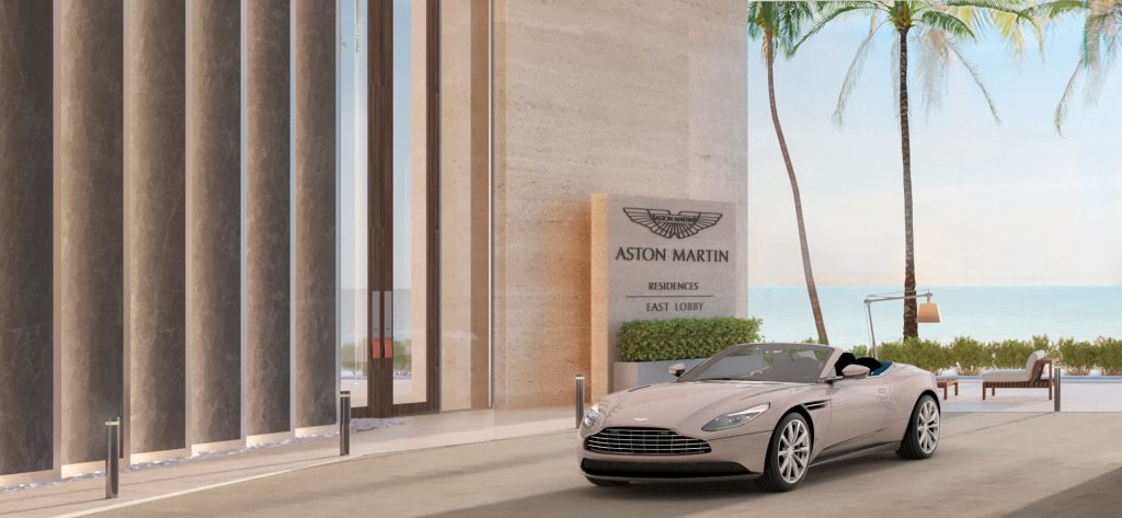 Aston Martin Main Entrance