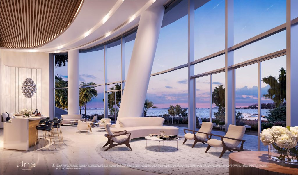 Una Residences Bay View Lobby