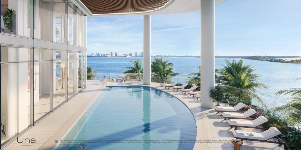 Una Residences Bayfront Pool