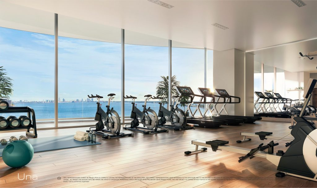 Una Residences Fitness Center