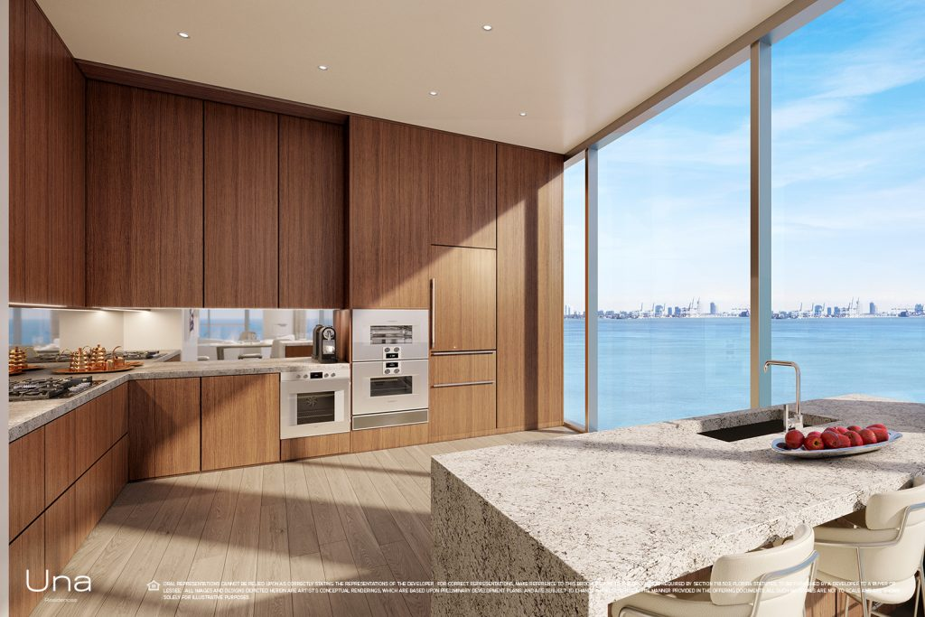 Una Residences Kitchen