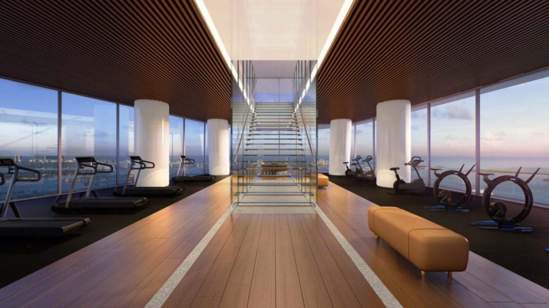 Aston Martin Fitness Center