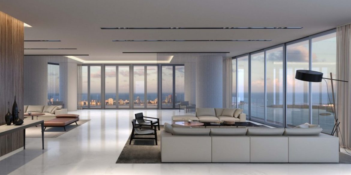 Penthouse Living Room View