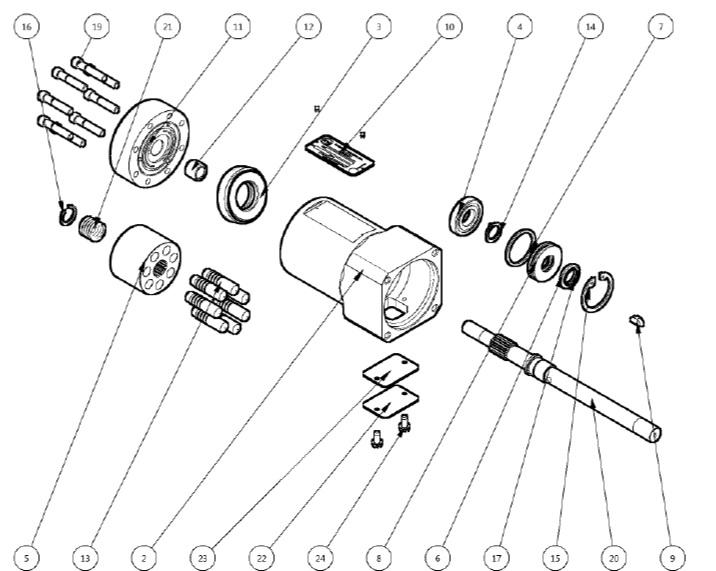 Kocsis A Series Hydraulic Starters [CMO]