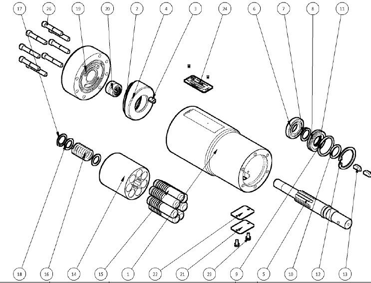 Kocsis D Series Hydraulic Starters [CMD3A]