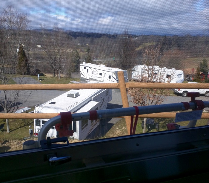 view of Asheville RV park