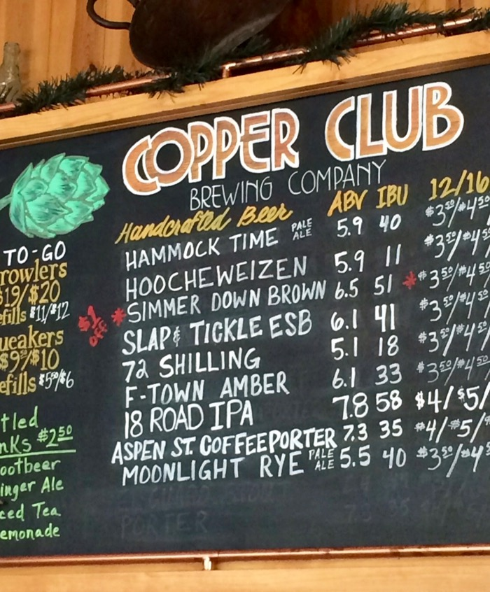copper club brewing co