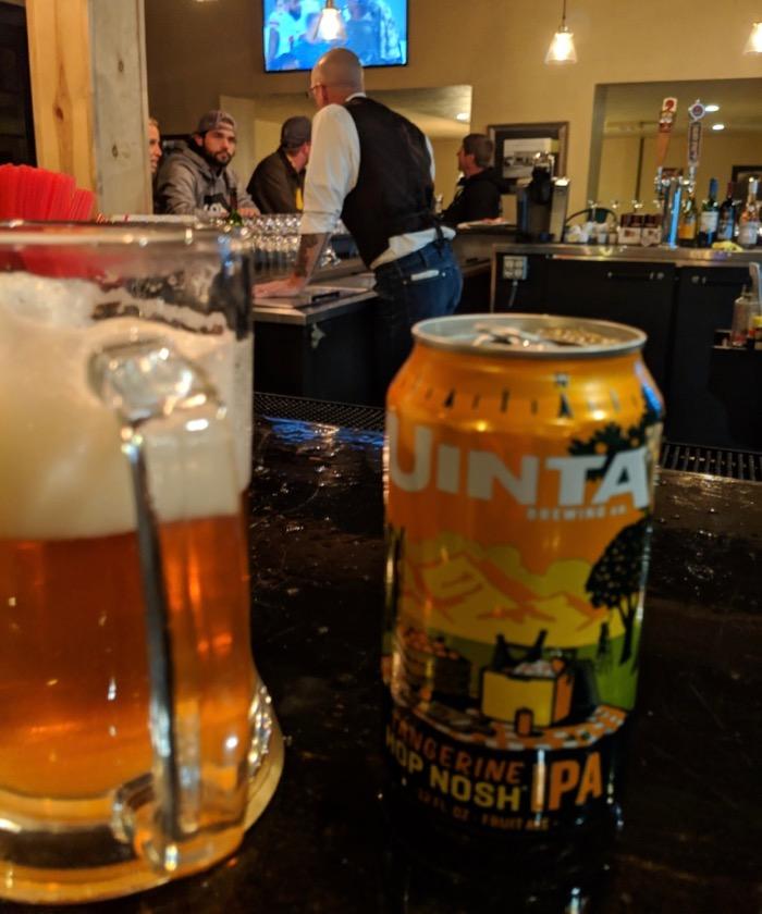 uinta beer at 4th West